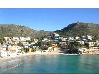 El Portet Cove beach