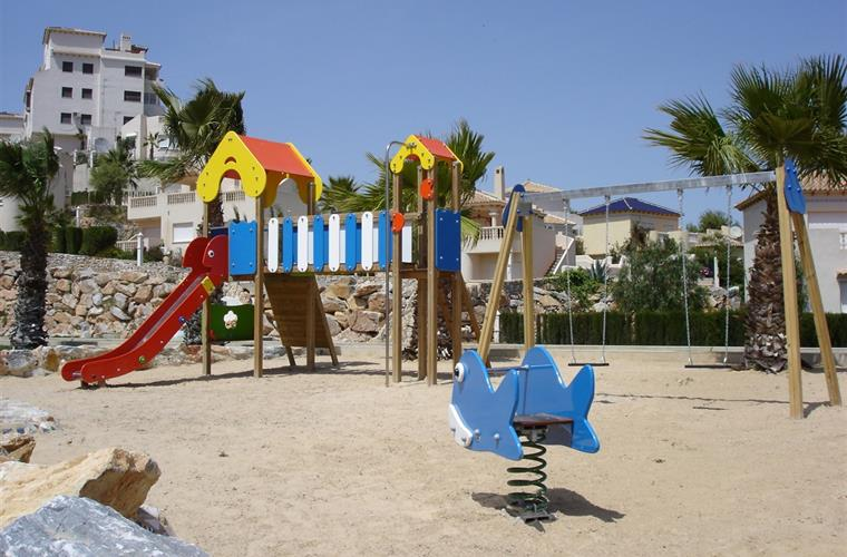 Children's play area - Las Ramblas