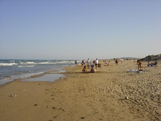 Beach at La Marina