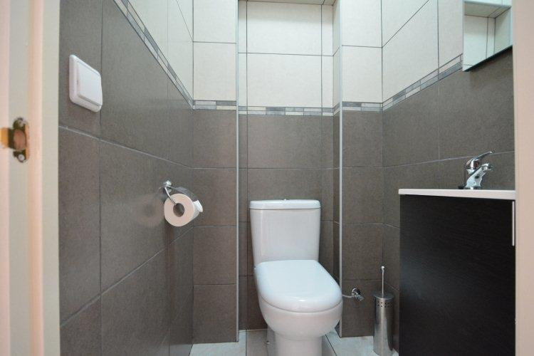 separate toilet lower floor