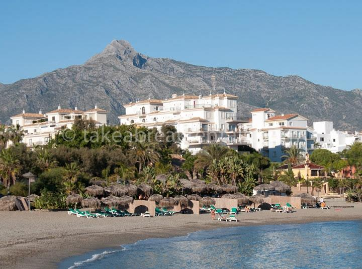 Andalucia del Mar Puerto Banus beach holiday Spain