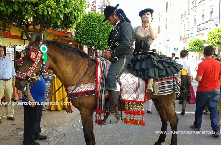 "A traditional Fiesta...""Dia del Romantica"" in historical Rhonda."