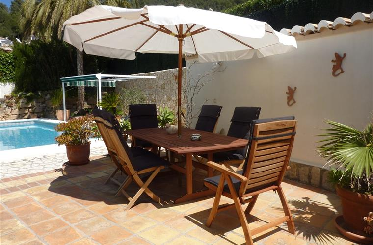 Holiday villa for rent in j vea j vea vacation villa 12737 for Outdoor furniture javea