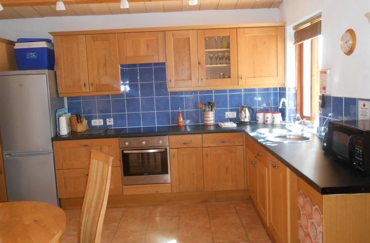 Spacious Kitchen With All Modern Conveniences