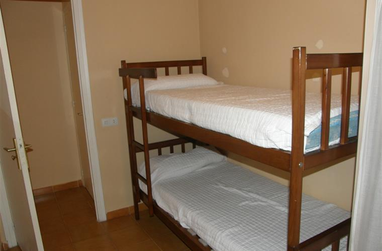 3rd. bedroom, if  needed the  bed can be  converted to single bed