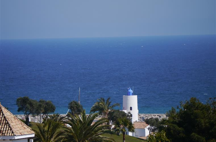 Duquesa Light house from balcony