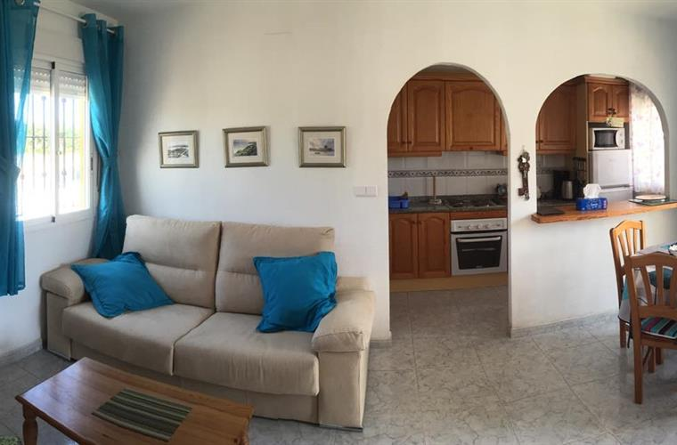 Panoramic View of lounge & kitchen. Click expand for better view.