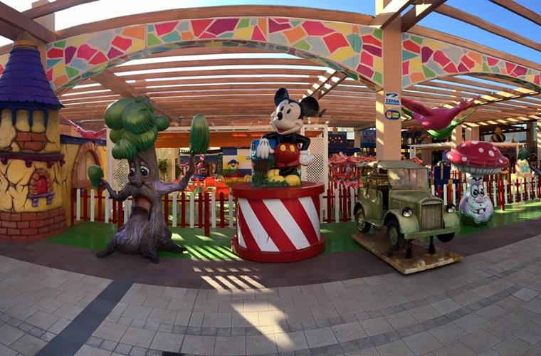 Kids Area at Zenia Boulevard.