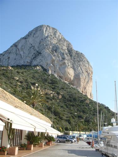 Penon de Ifach from Calpe port