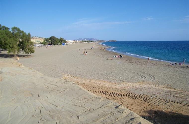 Large sandy Bolnuevo beach - just a 5 minute walk from the house
