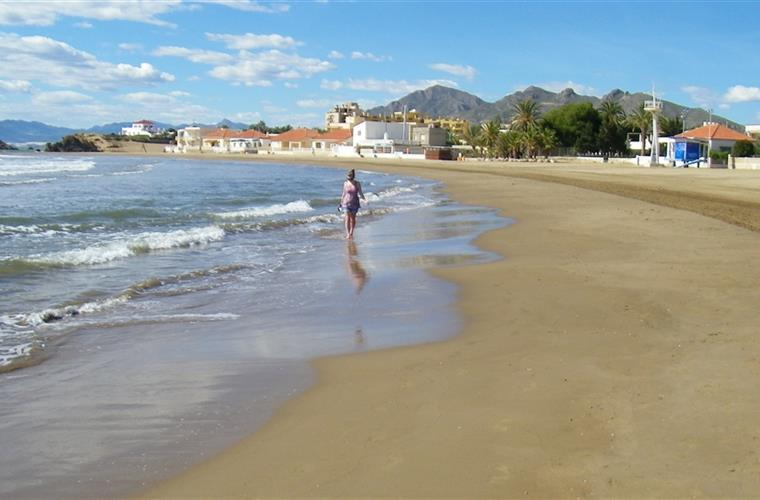 Bahia Beach in February! Ideal for children with very gentle waves