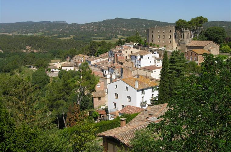 View from Torre Nova at the village