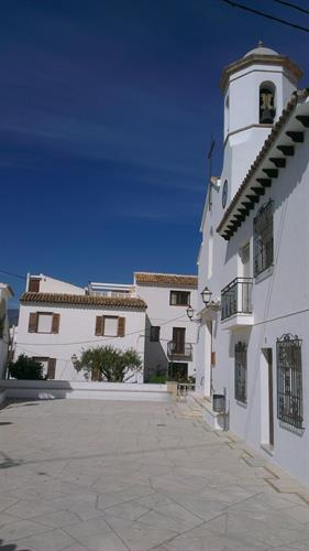 The village church and square of Altea la Vella