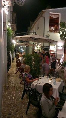 Eating out in Altea