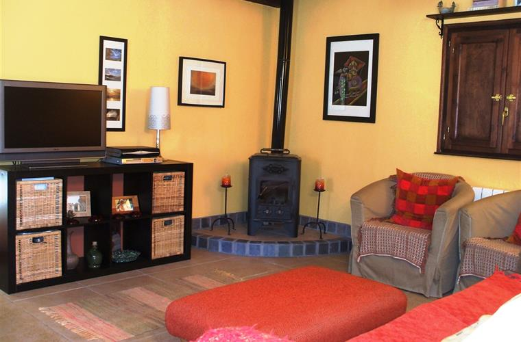 Lounge Areas & wood burner