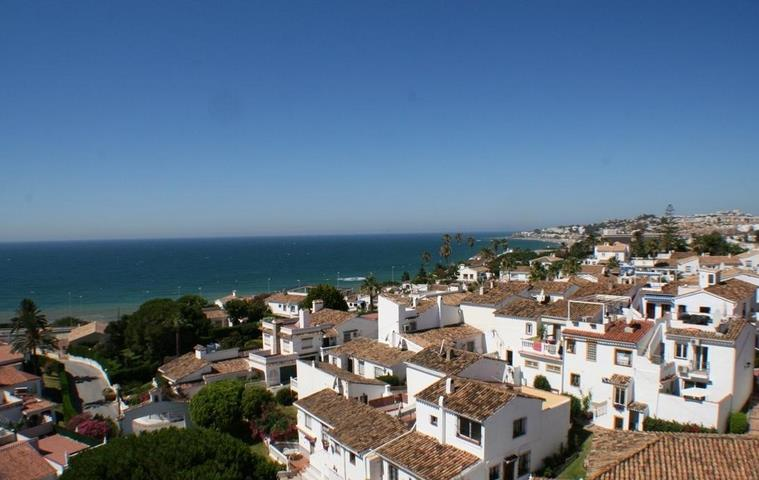 The charming town of La Cala de Mijas