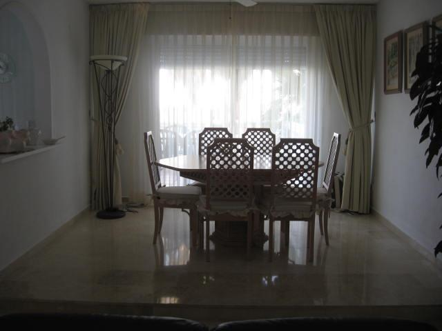 Dining area leading out to sunny terrace