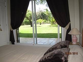 Main bedroom. Very quiet and nive views to the garden