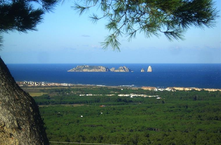 "View from terrace to ""Islas Medes"" islands"