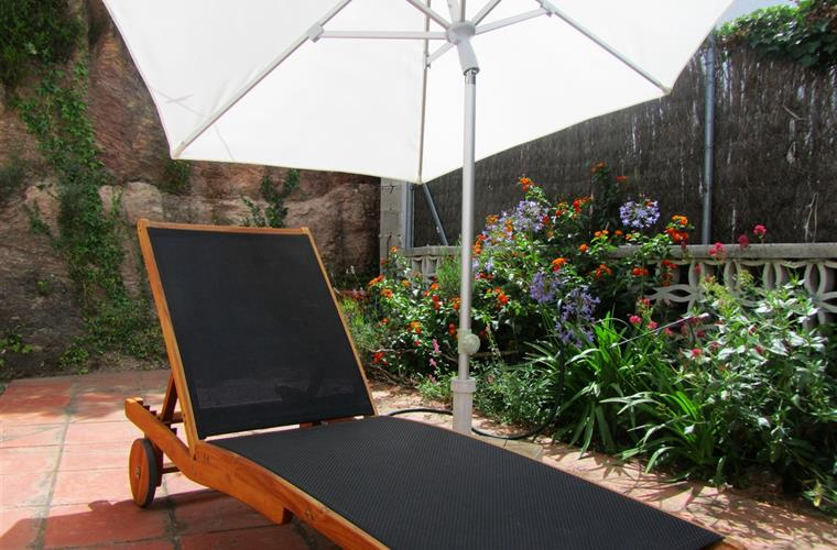 Private sun terrace