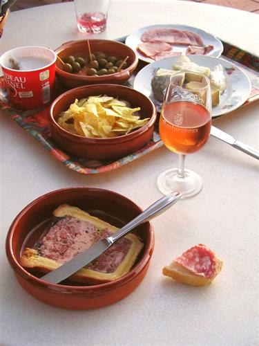Enjoy spanish Tapas on the terrace