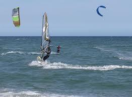 Wind and Kitesurfing