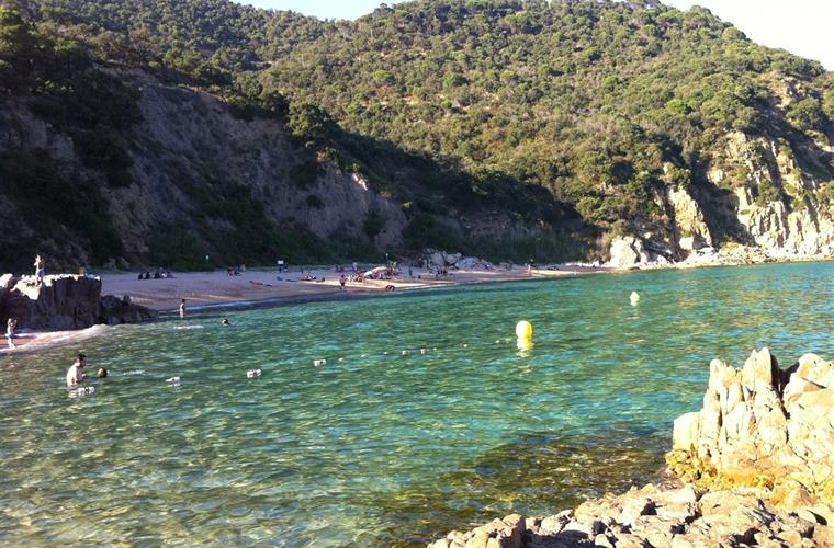 the cleanest water of the costa brava