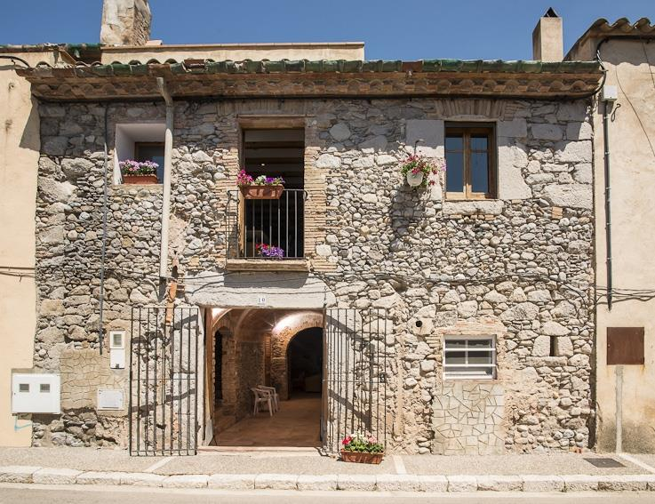Casa Fluvia was built in the 18th century as as farmhouse