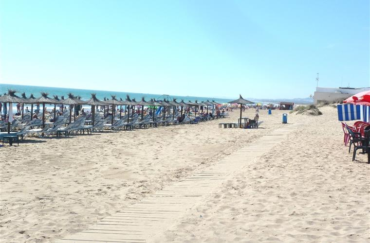 The Beach in La Marina Village #1