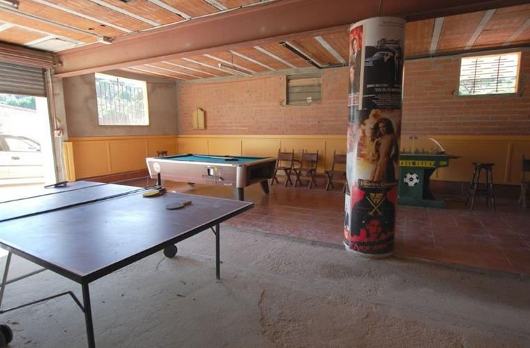 Games room with table tennis, billiard and dart