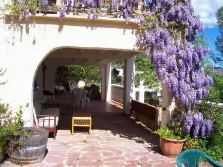 Beautiful patio to the Gandia accommodation