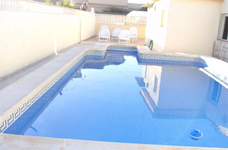 Swimming Pool at the back of the house
