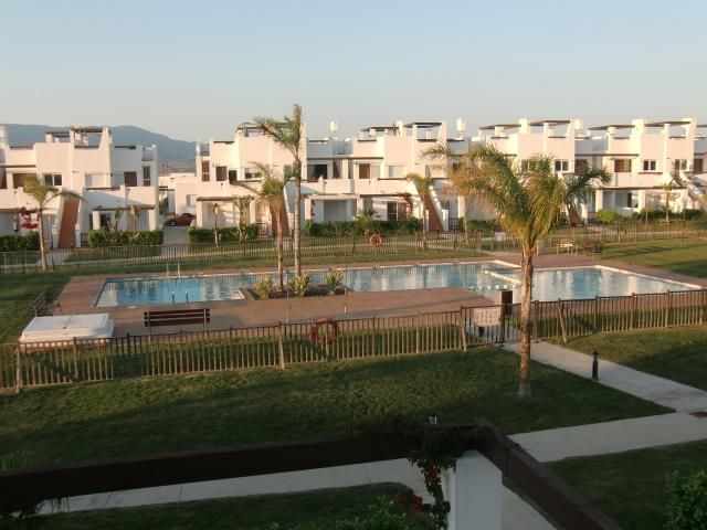 A view to the pool