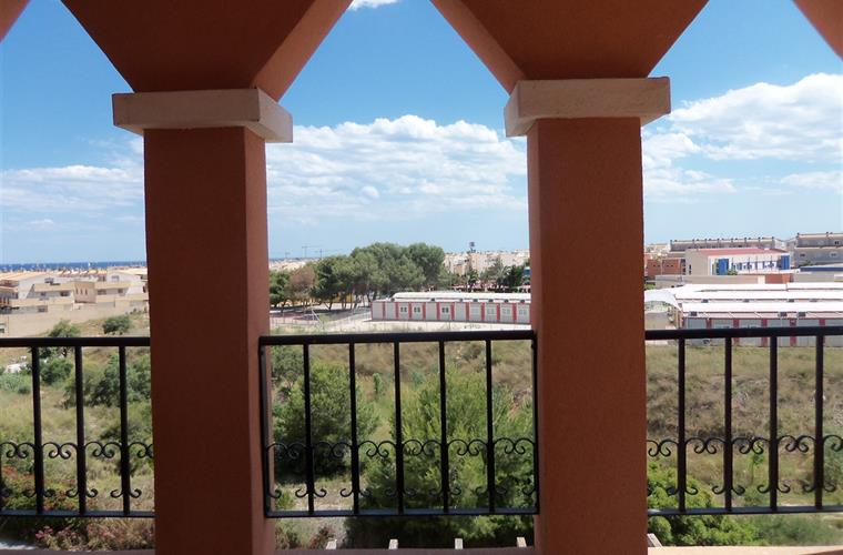 Views from the terrace of our 2 bed 2 bath Parque del duque apartm