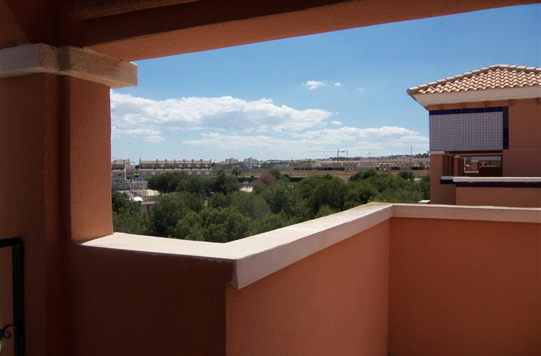 Views from the terrace over Playa Flamenca