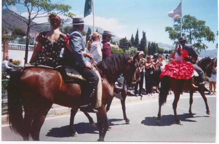 San Isidro fiesta in May