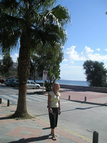 Promenade near the beach