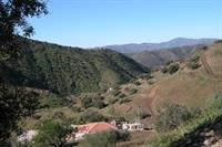 Property showing hills and valley below.Secluded tranquil location