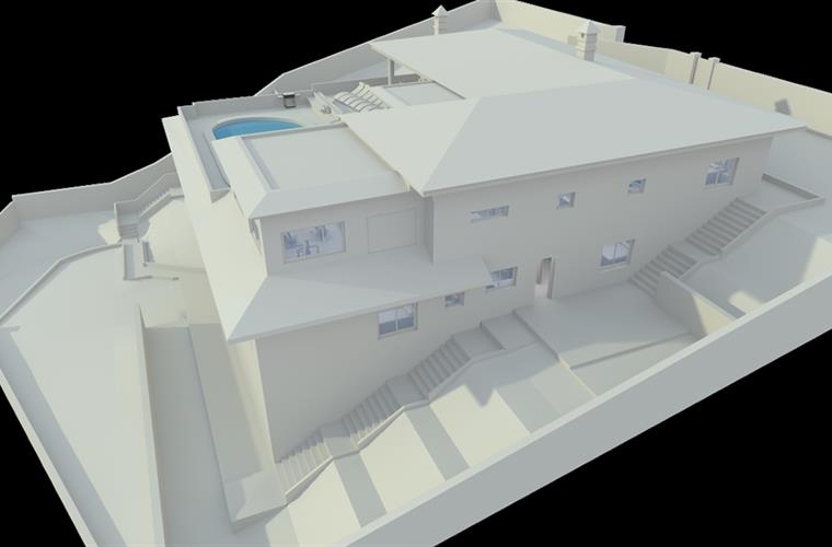 3D image of villa