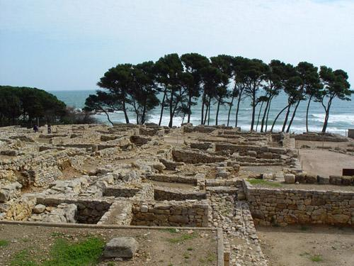 St. Martí d´empuries. Greec and roman excavations