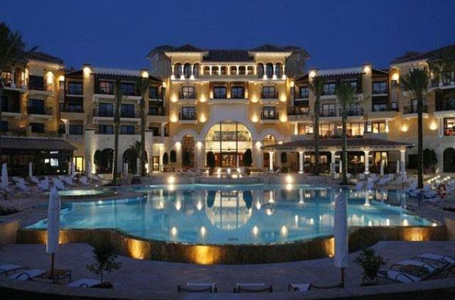 The hotel Intercontinental***** with pools and SPA