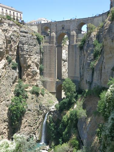 Ronda's famous bridge. A one hour drive from Colmenar