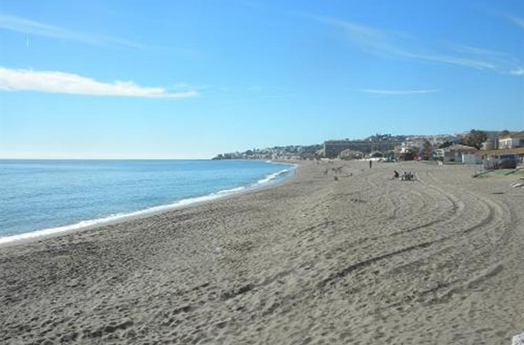 "The sandy beaches of La Cala de Mijas are ""Blue Diamond""-rated"
