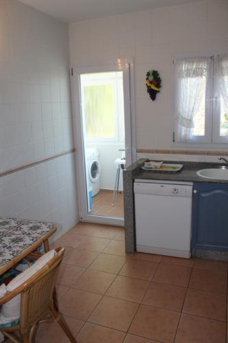 Laundry room from kitchen