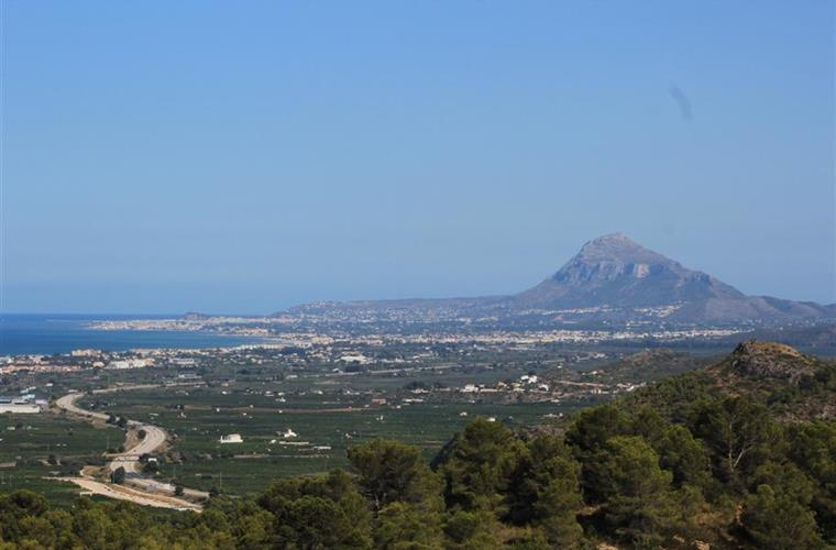 View from Terrace to Denia and the Montgo National Park