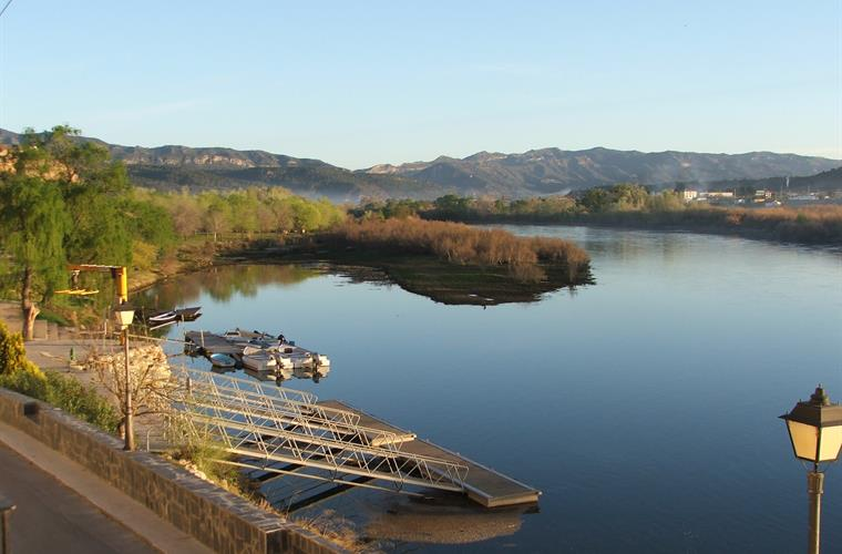 The view from River Ebro Apartments