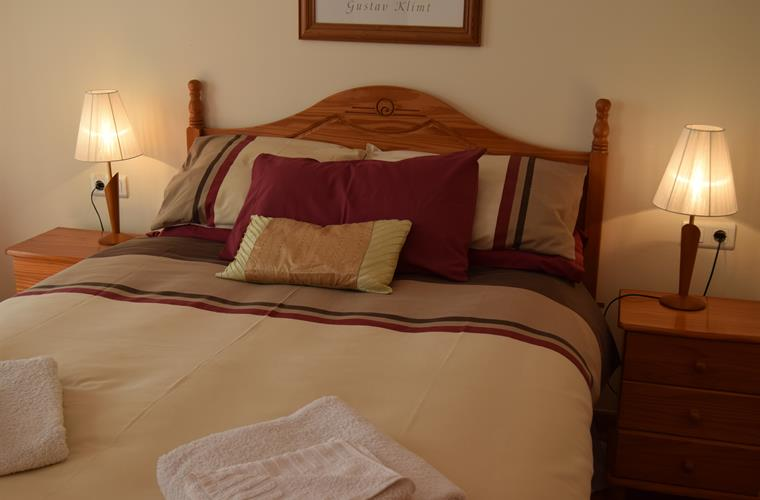 Comfortable beds and quality linens