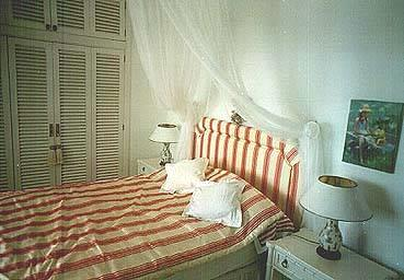 A tastful and charming furnished bedroom