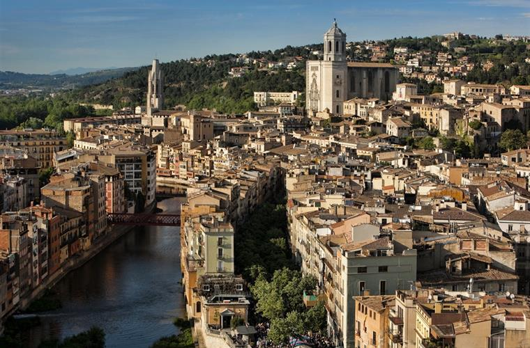 Beautiful Girona city