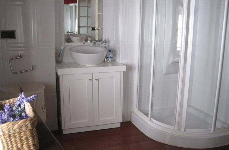 Bathroom detail, downstairs en-suite